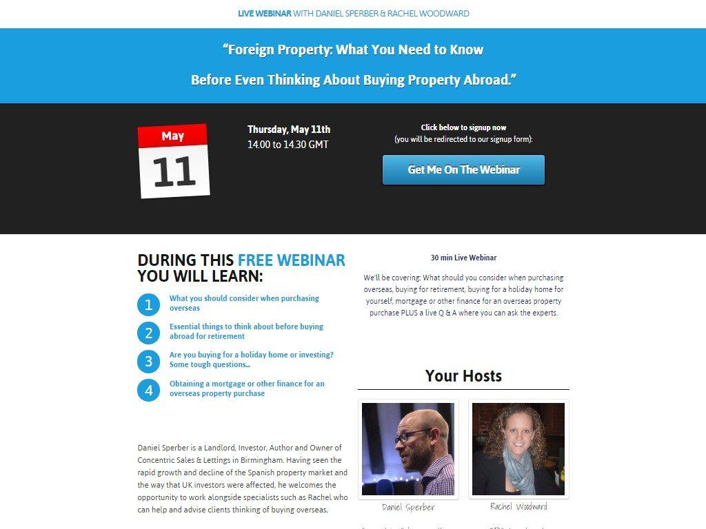 Overseas property – Rebooked Webinar   Birmingham Property Buzz